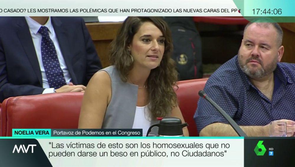 "Noelia Vera responde a Cs sobre el Orgullo: """""