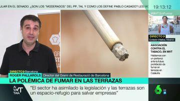 Polémica por la prohibición de fumar en las terrazas