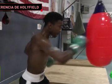 Familia de boxeadores: el hijo de Evander Holyfield se prepara para superar la leyenda de su padre