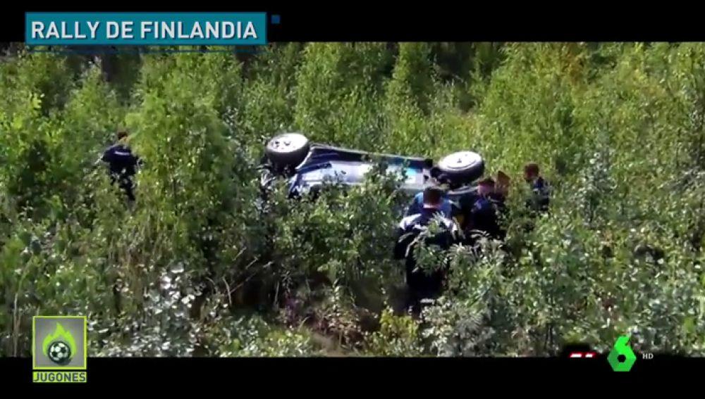 Brutal accidente de Hayden Paddon en el mítico rally de Finlandia