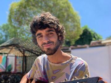 El cantautor Pedro Pastor