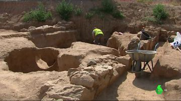 Encuentran restos de una villa romana vitivinícola en Badalona
