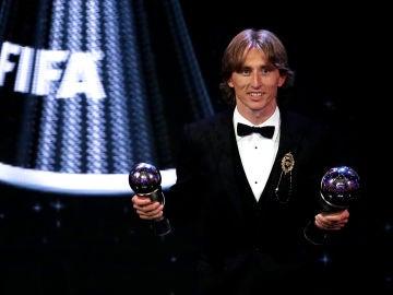 Luka Modric, ganador del premio The Best 2018
