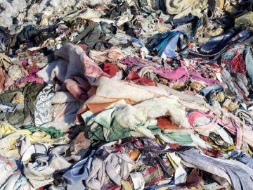 Vertedero textil