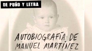 Portada de Autobiografía de Manuel Martínez