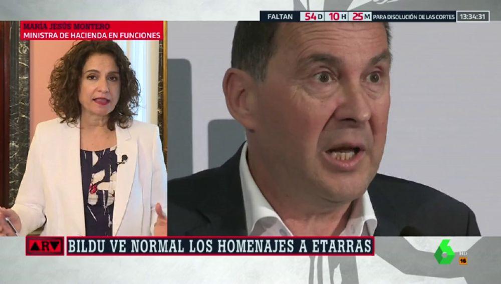 """Montero responde a las críticas del PP sobre la abstención de Bildu en Navarra: """"Es una excusa para no apoyar la investidura de Sánchez"""""""