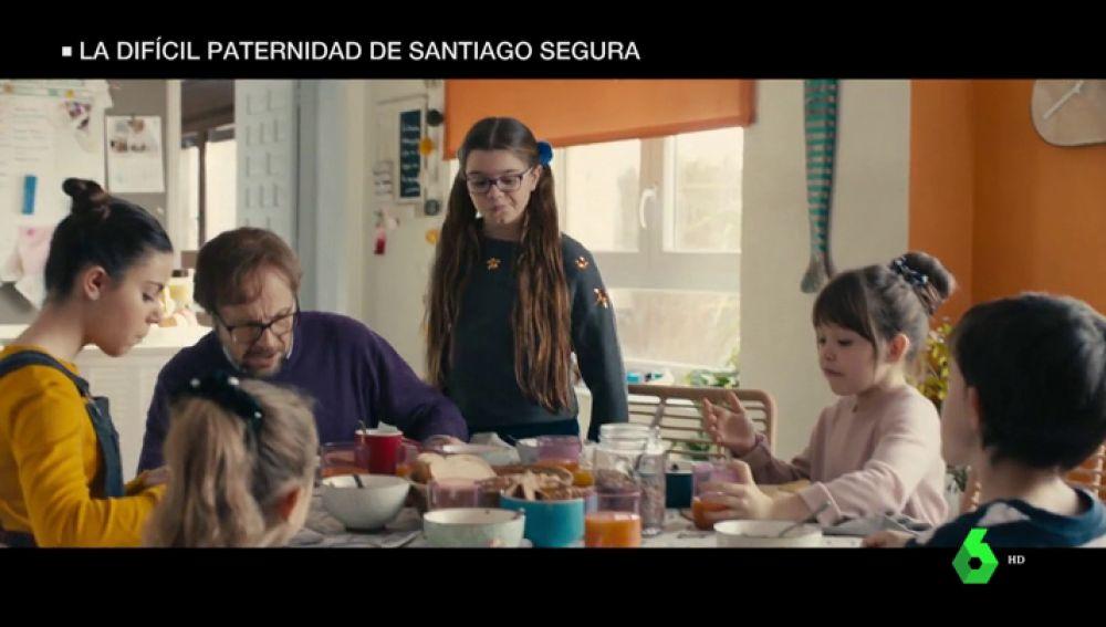 Santiago Segura estrena 'Padre No hay más que uno', su primera comedia familiar