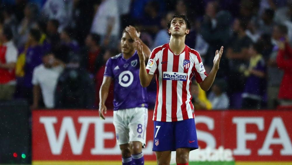 Joao Félix celebra su gol contra los All Stars de la MLS