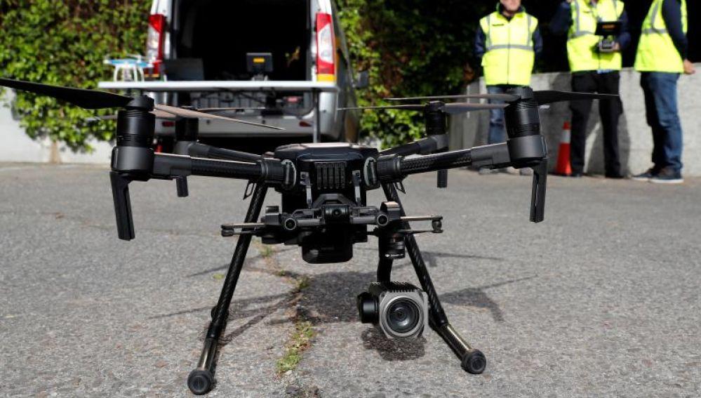Uno de los drones de la DGT que vigilan las carreteras españolas