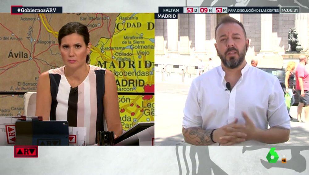 """Antonio Maestre: """"Las medidas de inmigración que defiende Vox y que recogió Rivera en el debate son los fundamentos de una asociación nazi"""""""