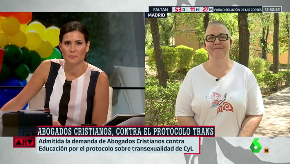 """El mensaje de Saida García (Asociación Chysallis) a Abogados Cristianos: """"Por mucho que se empeñen, las personas trans seguirán existiendo"""""""