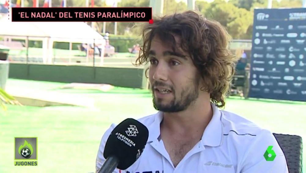 """Dani Caverzaschi, una historia de superación en silla de ruedas: """"De pequeño quise ser portero del Real Madrid"""""""