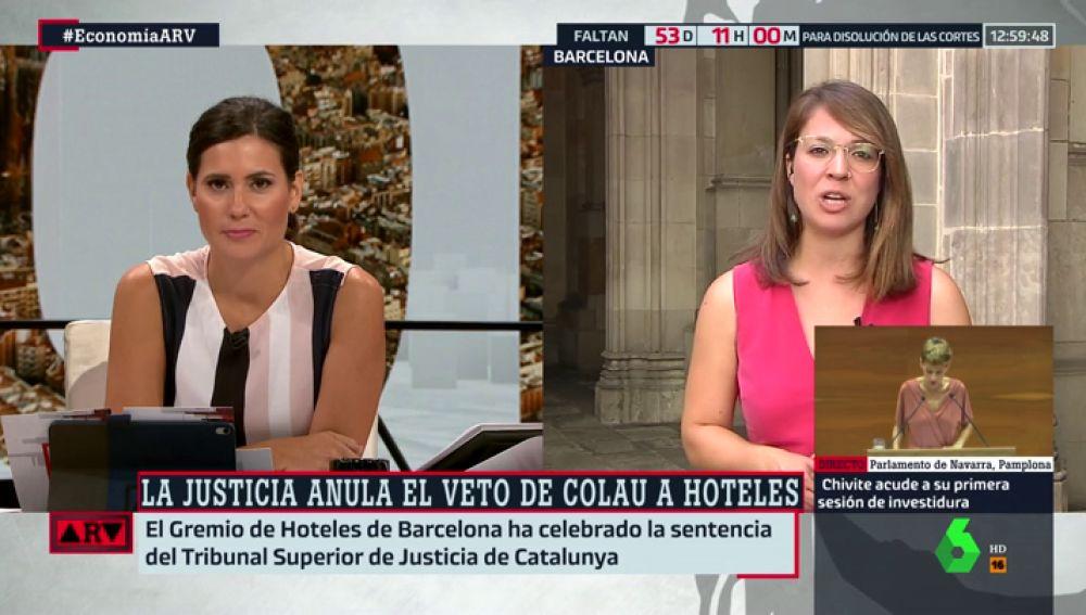 """Janet Sanz, teniente de alcalde en Barcelona: """"La ciudad era una barra libre de hoteles y había que poner orden"""""""