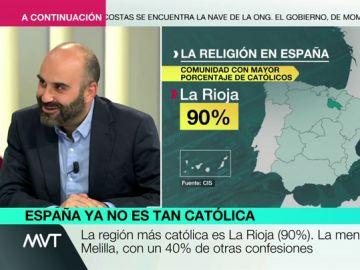 El periodista José María Rivero
