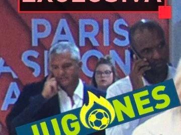 Javier Bordas y Eric Abidal, en París para negociar por Neymar