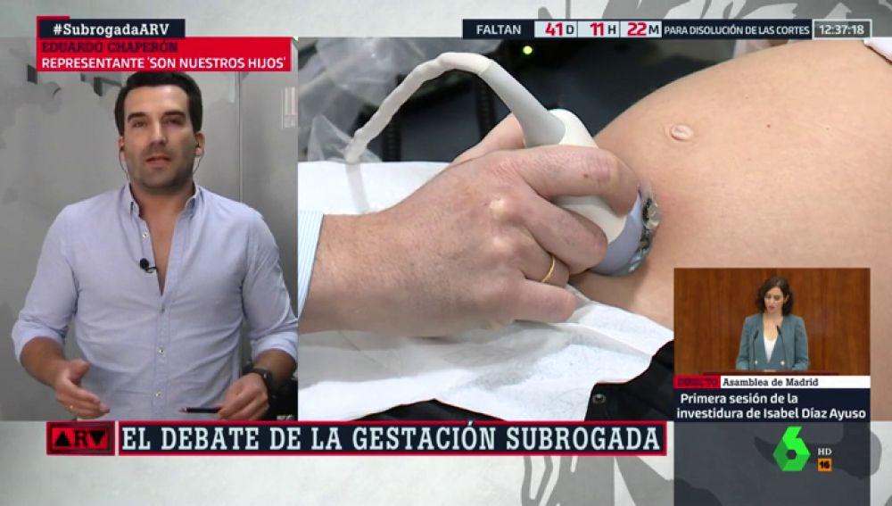 """Eduardo Chaperón tacha de """"electoralismo"""" que el Gobierno pida investigar las agencias de vientres de alquiler"""