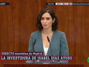 """Isabel Díaz Ayuso rebautiza la Consejería de Justicia como """"Justicia, Interior y Víctimas del Terrorismo"""""""