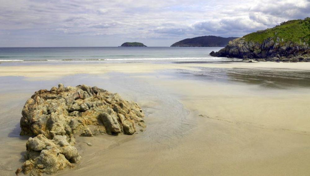 Playa de Vilela (Mañon, A Coruña)