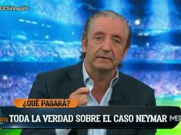 Josep Pedrerol cuenta toda la verdad del 'caso Neymar' en el arranque del primer 'El Chiringuito' de la temporada
