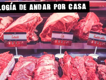 Escaparate de carne