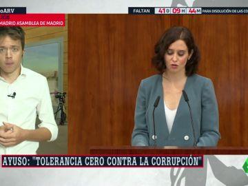 """Íñigo Errejón: """"Ayuso no habla de violencia machista porque no piensa en las mujeres, sino en Vox"""""""