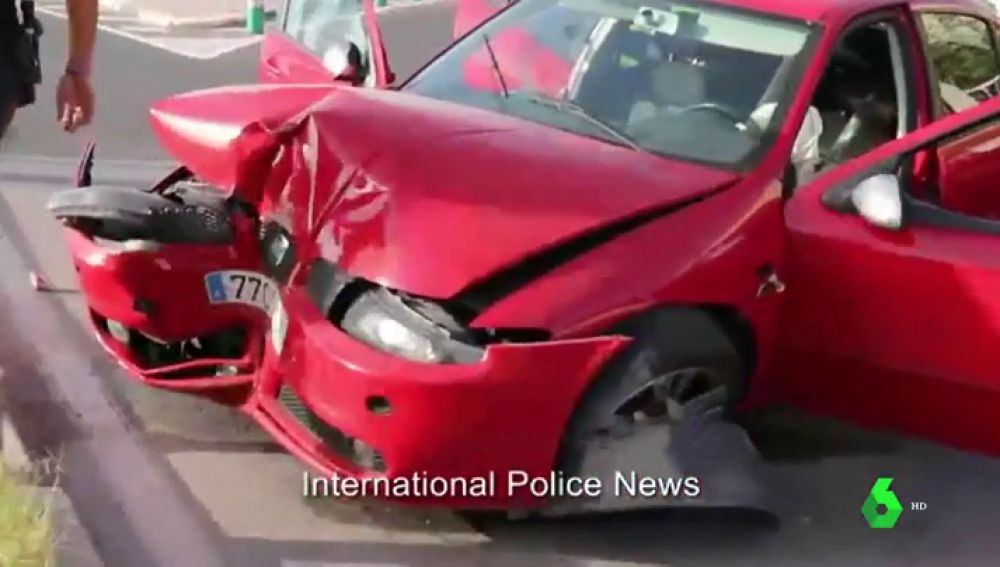 Espectacular persecución policial de cinco personas que robaron más de 100.000 euros a una anciana