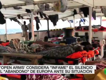 """Open Arms denuncia el """"abandono"""" de Europa y Kichi ofrece el puerto de Cádiz para desembarcar a los 151 migrantes"""