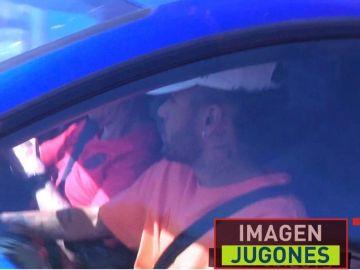 Neymar, cazado por las cámaras de 'Jugones'