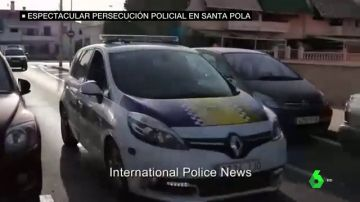 """Espectacular persecución policial en Santa Pola tras un robo con violencia: """"¡Quieto o disparo!"""""""