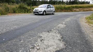 Carretera mal estado
