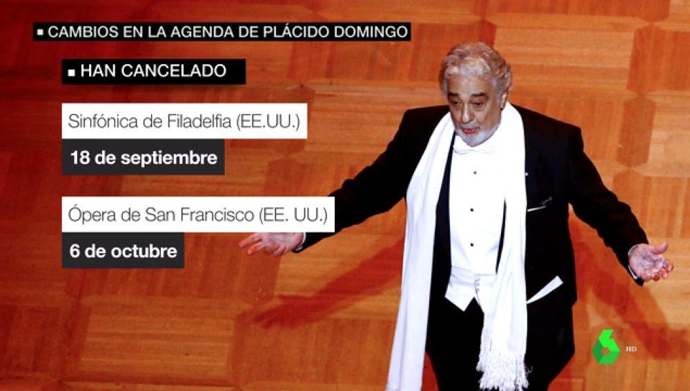 Polémica en el mundo de la ópera: varias instituciones piden que se investigue las acusaciones de acoso sexual de Plácido Domingo