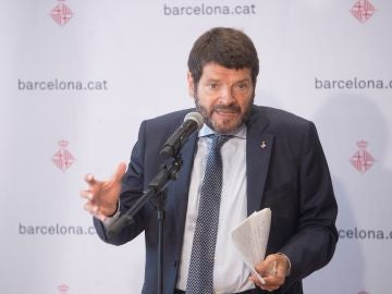 El teniente de alcaldía de Seguridad del Ayuntamiento de Barcelona, Albert Batlle