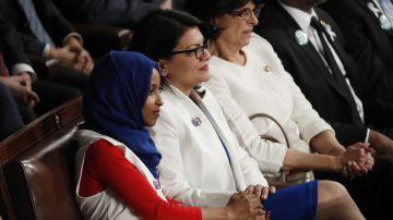 Trump pide a Israel que impida la entrada a dos congresistas musulmanas