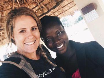 La misionera estadounidense Renee Bach