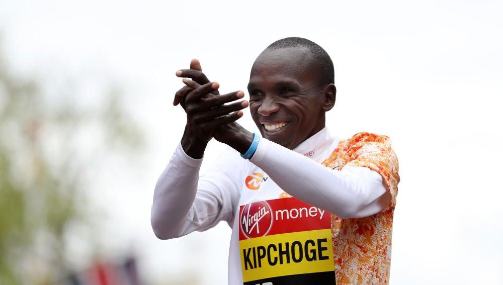 El maratoniano Kipchoge