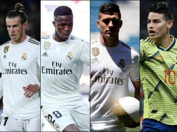 Bale, Vinicius, Jovic y James Rodríguez