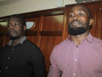Alex Mahaga Olaba y Lawrence Frank Wanyama