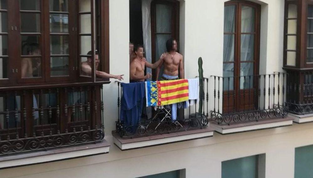 La bandera por la que se inició la disputa en Málaga