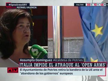 Assumpta Domínguez, alcaldesa de Potríes