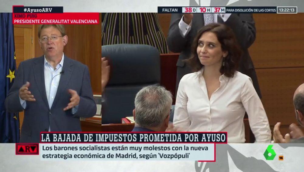 Ximo Puig en Al Rojo Vivo