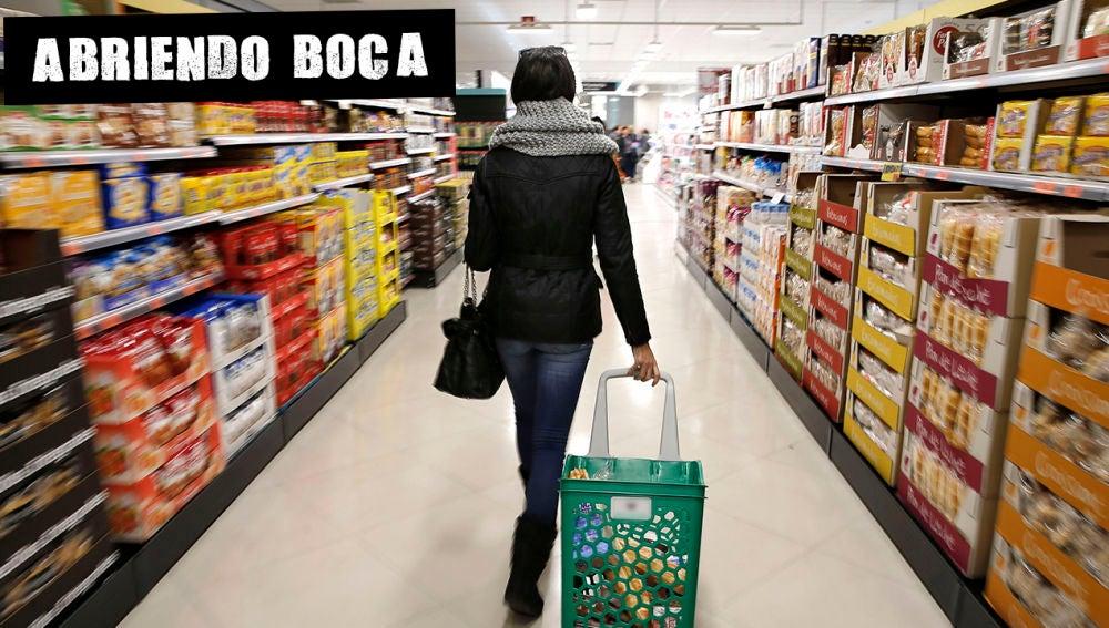 Compra en un supermercado