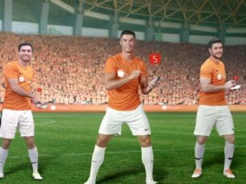 Cristiano Ronaldo, en un anuncio