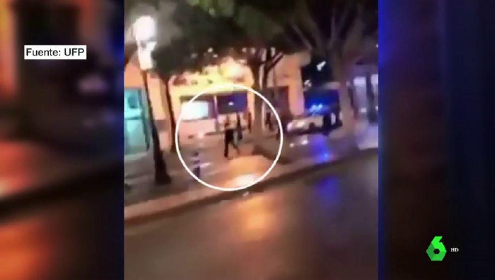 El vídeo de la persecución a un conductor que intentó atropellar a un policía en Marbella