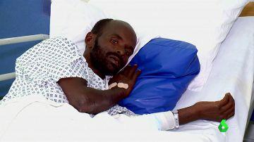 Mohammed Oga, el migrante que sobrevivió tras pasar 11 días en una patera a la deriva