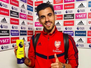 Ceballos, 'MPV' del Arsenal ante el Burnley
