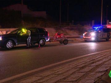 Los controles de alcoholemia se intensifican durante las fiestas de agosto: seis coches inmovilizados en apenas 60 minutos