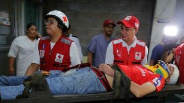 Un herido tras los incidentes en Tegucigalpa