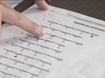 """Polémica por el examen de ortografía en las oposiciones a la Guardia Civil: incluía palabras como """"javaque"""" o """"hazquiriente"""""""