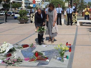 Quim Torra rinde homenaje a las víctimas del atentado de Cambrils