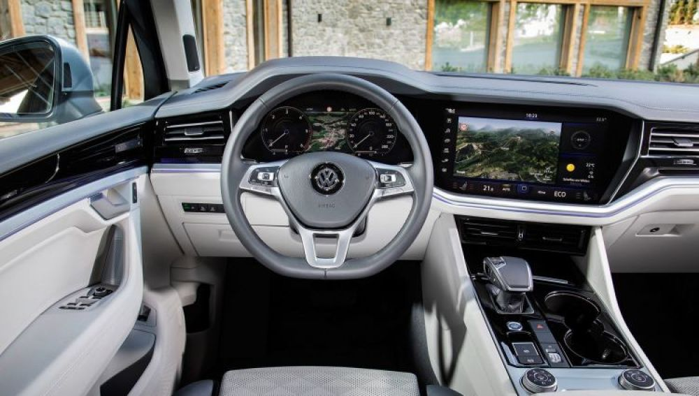 Interior del nuevo Volkswagen Golf